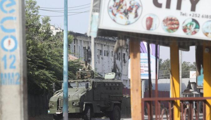 Somālijas galvaspilsētā izcēlušās apšaudes