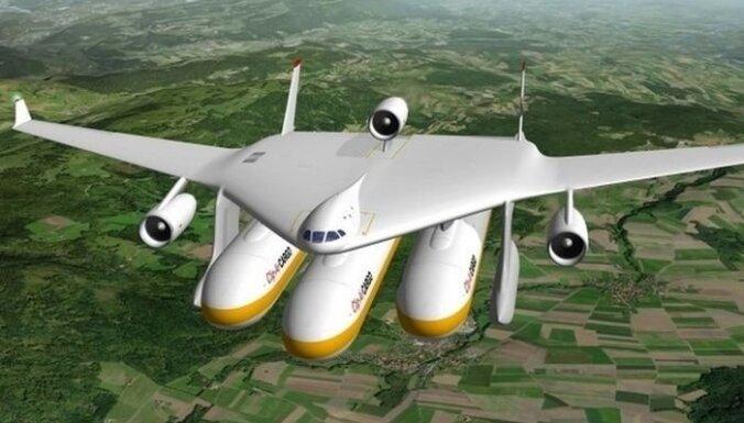 Воздушное судно Clip-Air — смесь самолета и поезда