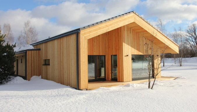 Foto: Kādas dzīvojamās mājas pieteiktas Latvijas Būvniecības gada balvai