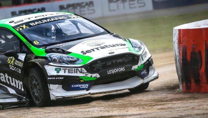 Baumanim Silverstounā pārtrūkst finālu sērija 'World RX' sezonā