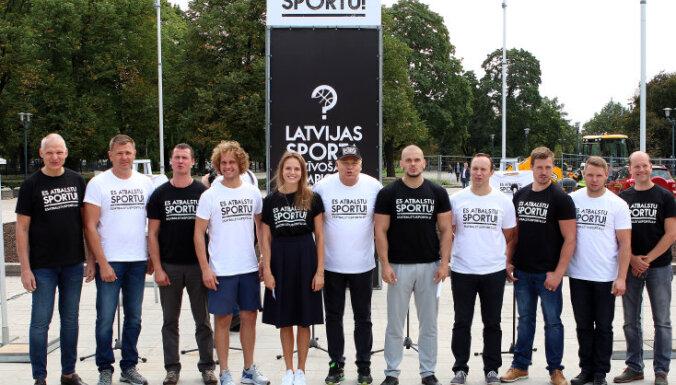 """""""Я поддерживаю спорт!"""": сотни латвийских спортсменов требуют изменений"""