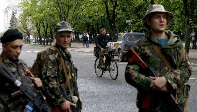 Ополченцы захватили военкомат в Луганске и удерживают Краматорск