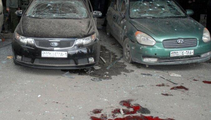 В Дамаске прогремели два взрыва: есть жертвы