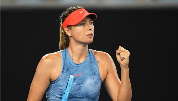 Шарапова, Федерер, Кербер и Надаль вышли в третий круг Открытого чемпионата Австралии
