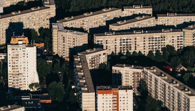 Ассоциация: в июле цены на квартиры в микрорайонах Риги снизились на 1%