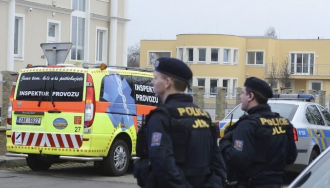 Sprādzienā Prāgā gājis bojā Palestīnas vēstnieks Čehijā (19:09)