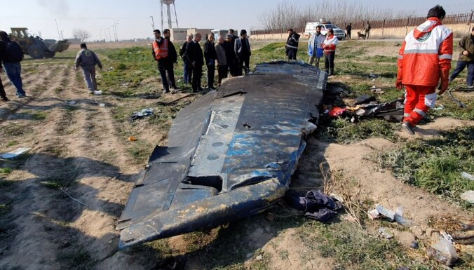 Irāna piedāvā Ukrainai netiesāties par notriekto lidmašīnu apmaiņā pret kompensācijām