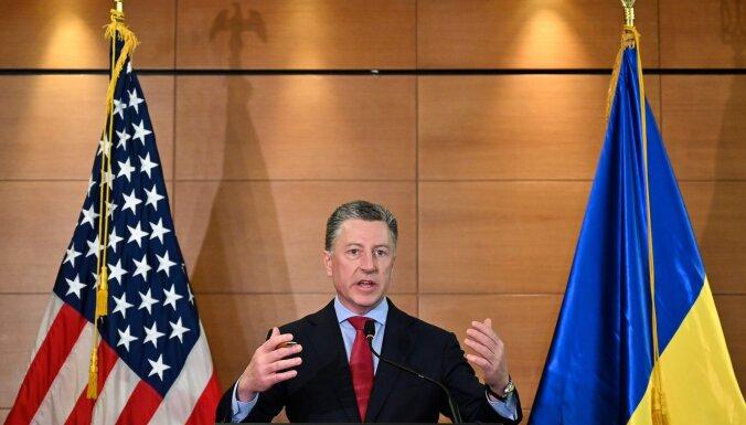 ASV īpašais pārstāvis Ukrainā atkāpjas saistībā ar Trampa impīčmenta izmeklēšanu