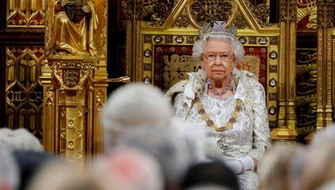 Karaliene: 'Brexit' 31.oktobrī ir britu valdības prioritāte