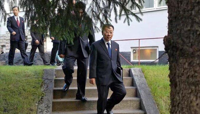 Ziemeļkoreja paziņo par kodolsarunu izjukšanu Vašingtonas vainas dēļ