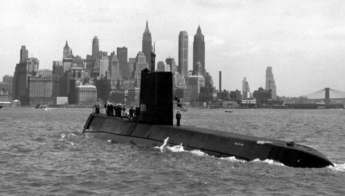 ASV trumpis pār PSRS: pasaulē pirmā atomzemūdene 'USS Nautilus'