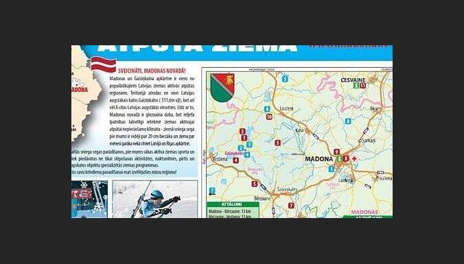 Iznākusi e-brošūra par atpūtu ziemā Gaiziņkalna un Madonas apkārtnē