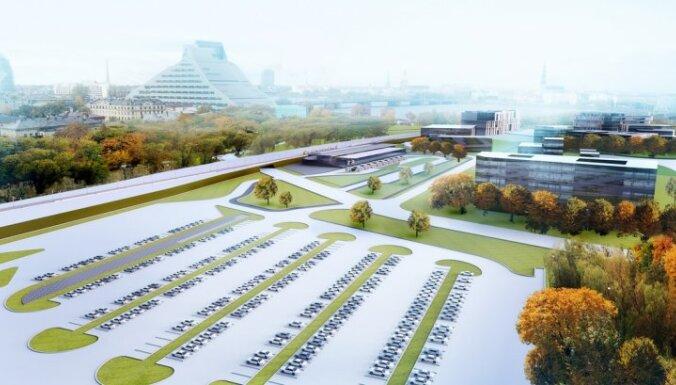 ФОТО: Торнякалнс станет важнейшим транспортным узлом