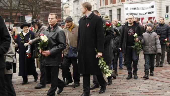 Подкомиссия Дзинтарса одобрила легализацию 16 Марта