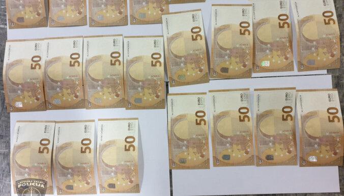 Trīs Latvijas iedzīvotāji no ārvalstīm pasūtījuši viltotas 50 eiro banknotes