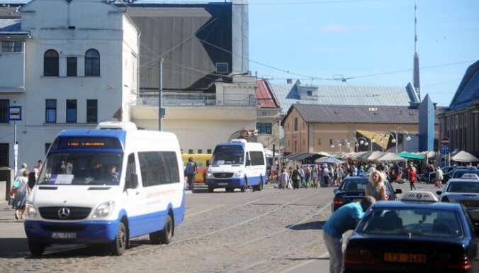 Mainīsies Rīgas mikroautobusu kustības saraksti