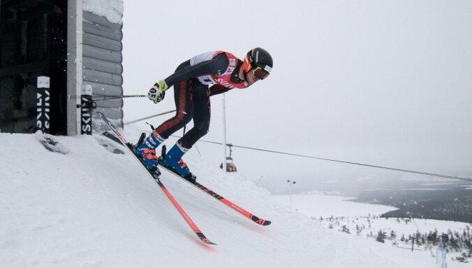 Miks Zvejnieks kļūst par Latvijas čempionu arī slalomā