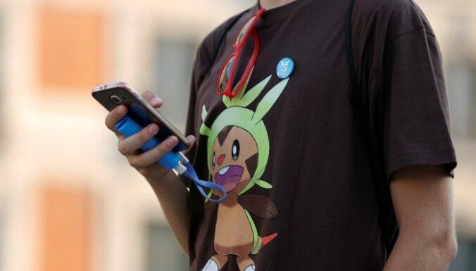 Londonas parkā aplaupīti trīs 'Pokemon Go' spēlētāji