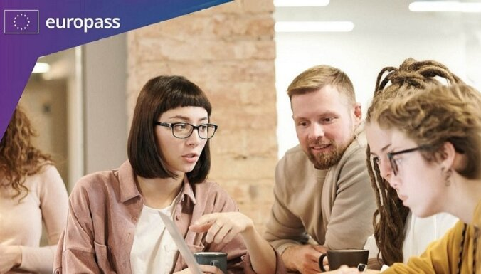 Latvijas izglītības kvalifikācijas jaunajā 'Europass' portālā