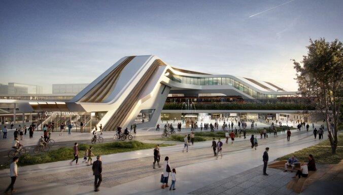 'Rail Baltica' būvniecības laikā samazinās vilcienu skaitu Centrālajā stacijā, paziņo Linkaits