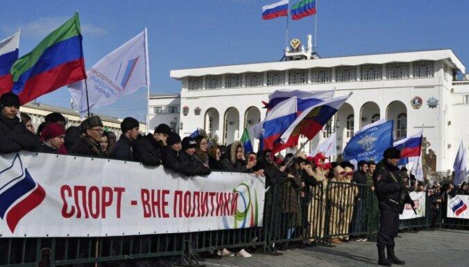 Krievija pēc CAS lēmuma joprojām diskvalificēta no Tokijas olimpiskajām spēlēm