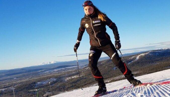 Distanču slēpotājai Eidukai labākais rezultāts pasaules junioru čempionātā