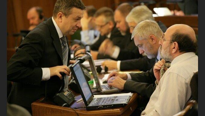 """Политик: депутаты в Сейме """"нажимают кнопки"""""""