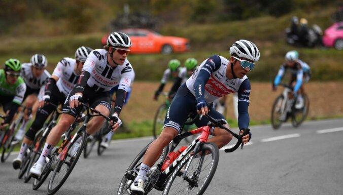 Liepiņam augstā sestā vieta 'Tirreno – Adriatico' sestajā posmā
