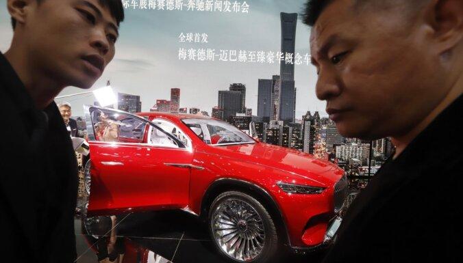 Ķīnā spēcīgs pieprasījums pēc luksusa automašīnām 'Maybach'