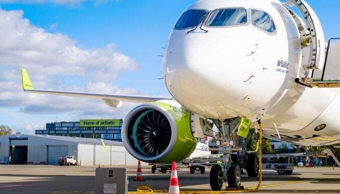 'airBaltic' šogad plāno pārvadāt vairāk nekā divus miljonus pasažieru
