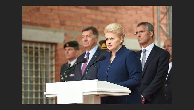 Грибаускайте: страны Балтии заблокируют идею общеевропейской армии