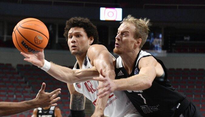 'VEF Rīga' FIBA Čempionu līgas maču zaudē pēdējā ceturtdaļā