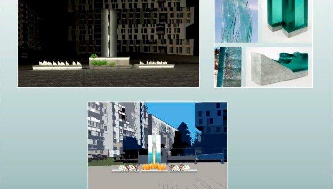 Pagaidu memoriālu Zolitūdes traģēdijas vietā par 41 300 eiro būvēs 'Būvuzņēmums restaurators'