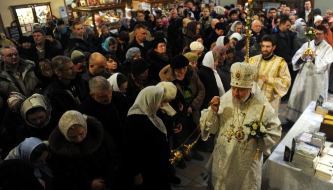 Православные Латвии пожертвовали пострадавшим на Украине 20 000 евро