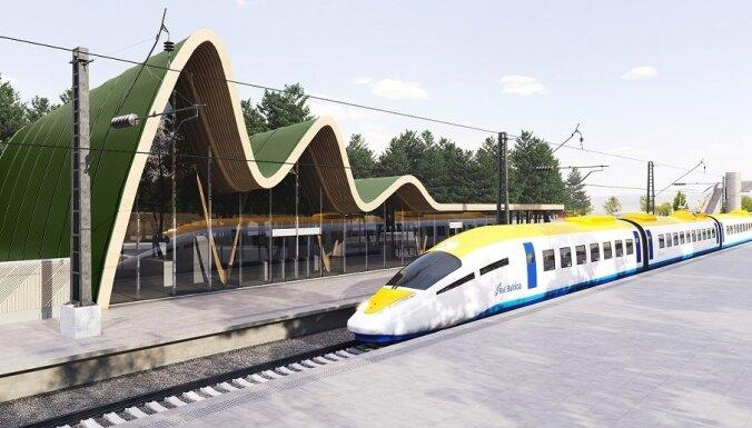 ФОТО: Как приблизительно будут выглядеть поезда Rail Baltica?