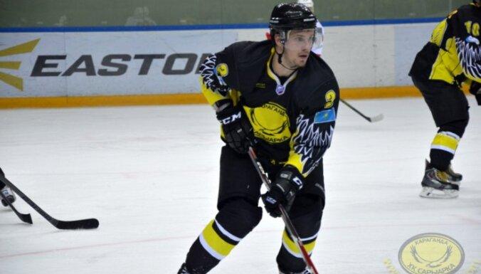 Erik Shevchenko, hokckey, Saryarka