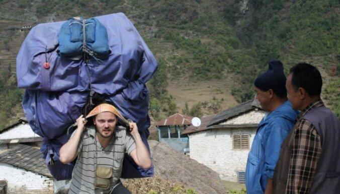Рюкзак непальского носильщика, около 70 кг