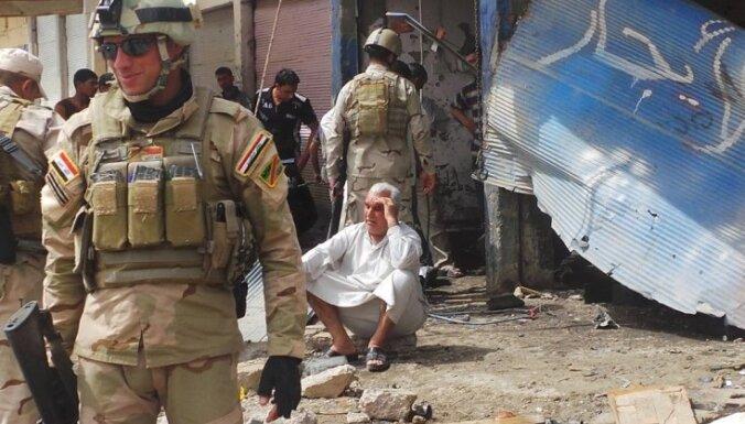 Drošības spēku reidā pret sunnītu protestētāju nometni 23 bojāgājušie