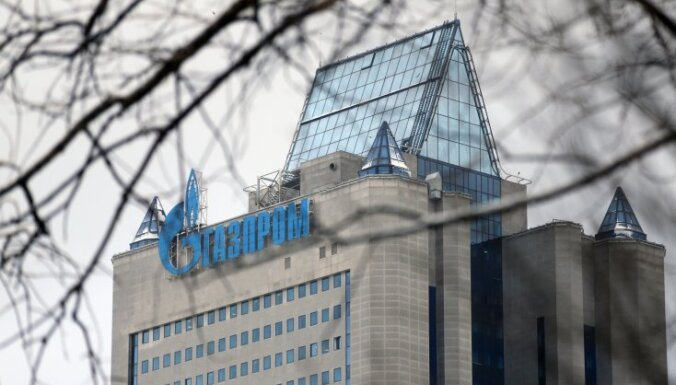 """""""Газпром"""" не получил существенной прибыли от газовых аукционов в странах Балтии"""