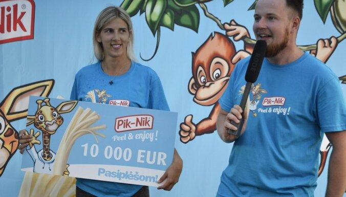 Čempionātā 'Plēšam paši' 10 000 eiro laimējusī studente: joprojām ir viegls šoks