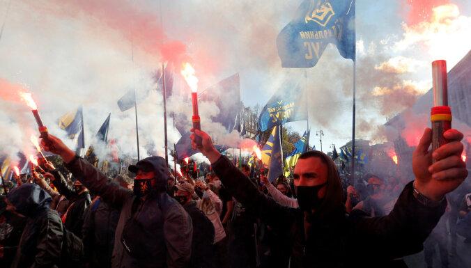 В Киеве произошли беспорядки из-за дела об убийстве журналиста Шеремета