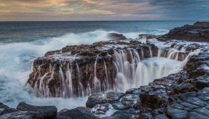 Nāvējošais skaistums, kas vilina tūristus: 'Karalienes vanna' Havaju salās
