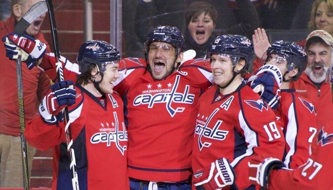 Washington Capitals Alex Ovechkin score 500 goal NHL