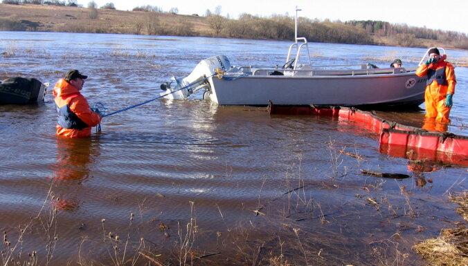 Vides sargi Kuldīgā Ventas upē konstatē piesārņojumu; pieļauj ļaunprātību