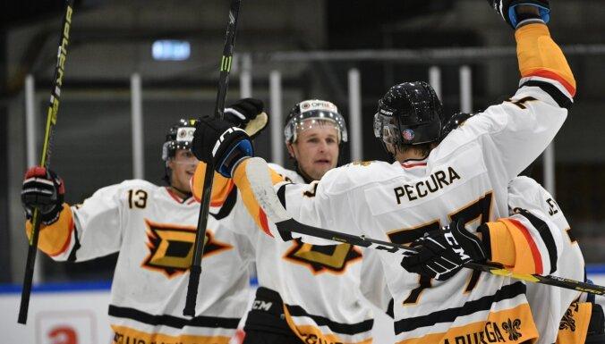 'Dinaburga' hokejisti virslīgas čempionātā varētu atgriezties jau nākamnedēļ