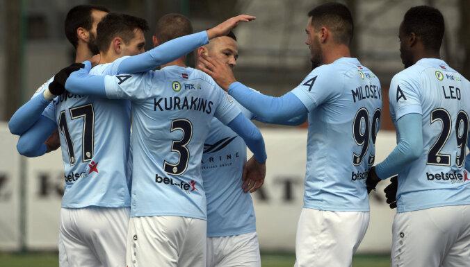 'Riga' sarūpē 'Daugavpilij' pirmo zaudējumu sezonā