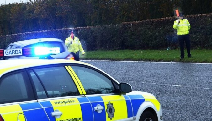 Ирландия: злостный нарушитель правил из Латвии сбил пешехода и скрылся с места аварии
