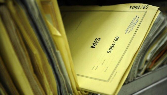 'Stasi' dokumenti nākamgad tiks nodoti Vācijas Federālajam arhīvam