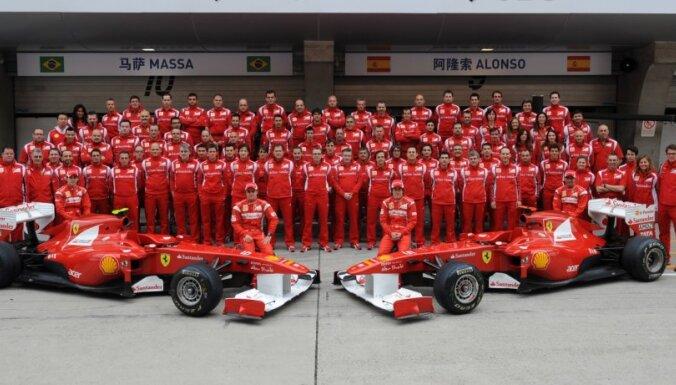 'Ferrari' boss: mēs būvējam neuzvaramu komandu