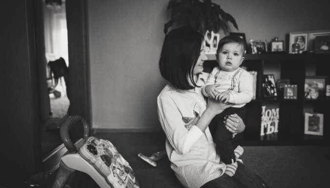 ФОТО. Съемка дома, а не в студии: плюсы для мамы и папы